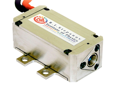 Passively Q-switched compact erbium laser for wide temperature range (IFL–E25-P)